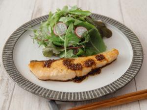鮭のソテーバルサミコソース